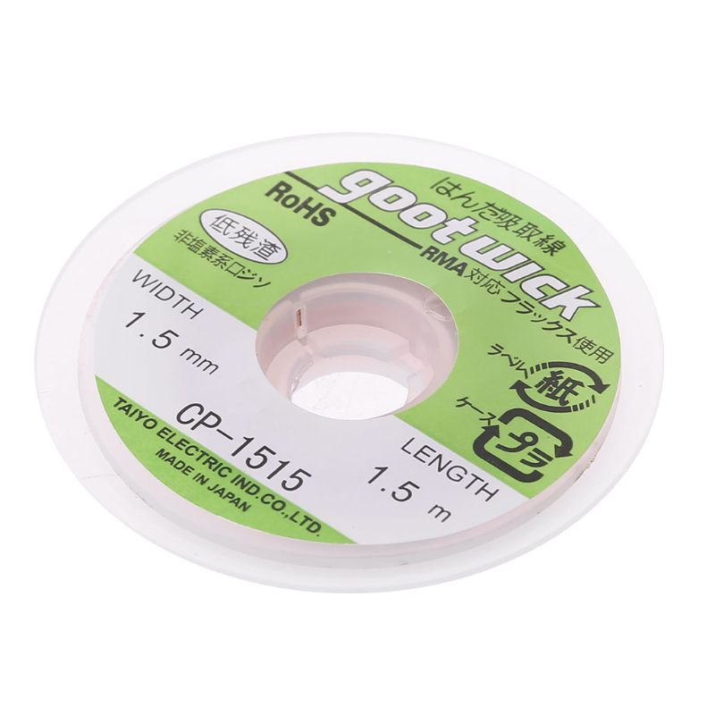 5 Ft 1.5mm Desoldering Braid Solder Remover Wick CP-1515 1PC 40JA