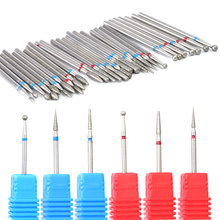 1pcs Diamond Nail Drill Bit Rotary Burr Mills Cutter Cuticle Remover For Electric Manicure Machine Drills Accessories LA01-29-1