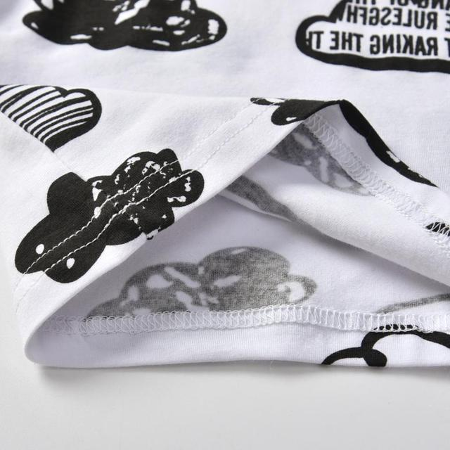 Baby's Printed Sweatshir, Pants and Beanie 3 Pcs Set 5