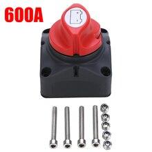 1Pc Duurzaam 600A Auto Batterij Isolator Belangrijkste Schakelaar Noodstop Pole Separator Schakelaar Voor Rv Boot Lier Power Kabels 68*68*74Mm