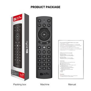 Image 5 - 스마트 TV 원격 제어에 대 한 L8star G20S G20 음성 공기 마우스 안 드 로이드 tv 상자 미니 pc 프로젝터에 대 한 6 축 자이로 스코프 2.4G 공기 마우스