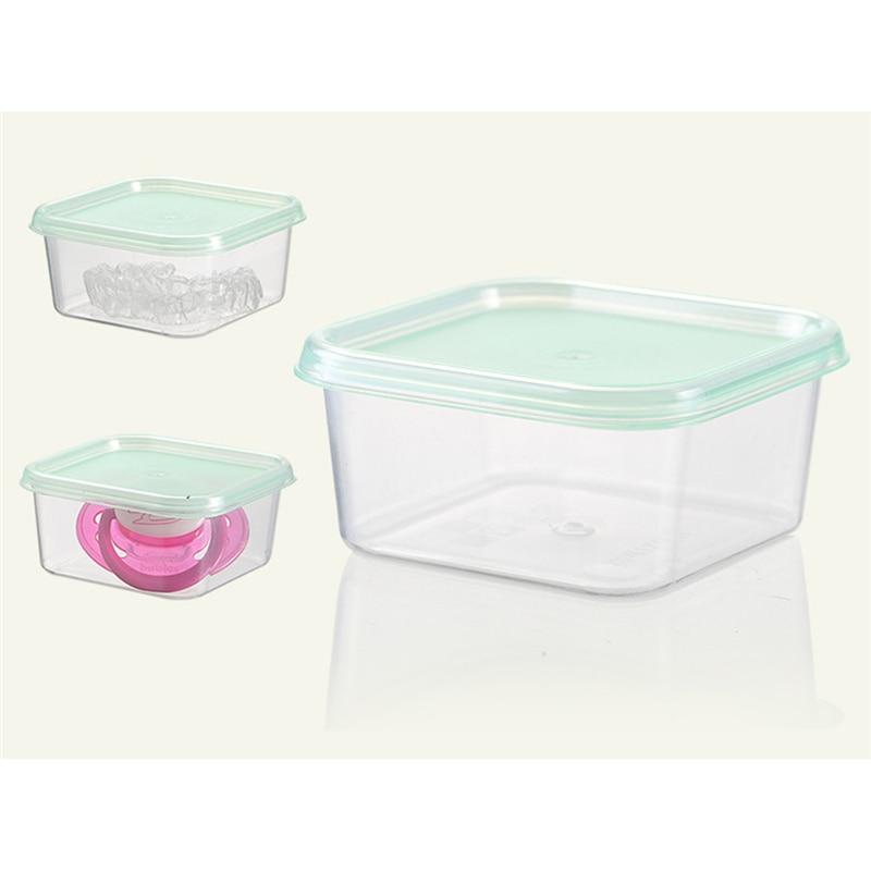 4Pcs/set Baby Milk Powder Container Portable Food Baby Sealed Baby Milk Powder Box Portable Children Food Storage Box