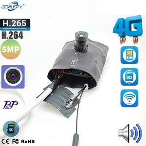 Geniuspy Camhi App 3G 4G SIM IP модуль камеры 5MP IMX335 1920P беспроводной мини 4G Pin hole Covert Встроенный микрофон слот карты Micro SD