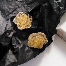 Trendy Women Jewelry Flower Earrings For Female 2020 New Sweet Stud Wholesale Party Wedding Gifts