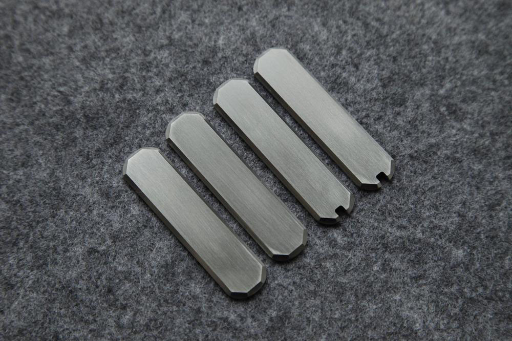 For Replacement Made 65mm Mod Scale Alloy   Custom Titanium Army Victorinox DIY TC4 Swiss Knife Saber Knife