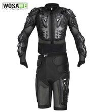 Wosawe мотогонок jakcet мотокросса всего тела бронированная