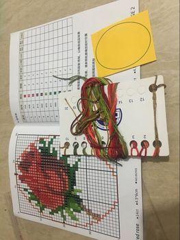 Nowy majsterkowanie ścieg krzyżykowy zakładka świąteczne plastikowe tkaniny robótki haftowanie rękodzieło haft krzyżykowy zestaw do szycia tanie i dobre opinie XIANGYUANWU S SHOP-ZBYXZ cartoon Kanwa Obrazy Składane 100 COTTON Duszpasterska