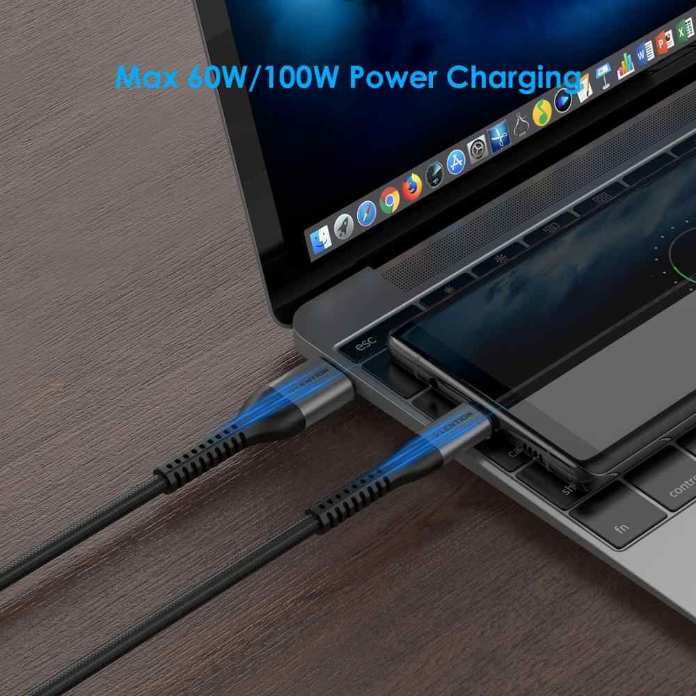 USB Type C สำหรับ Samsung S10 Huawei P30 Pro FAST CHARGE Type-C โทรศัพท์มือถือชาร์จสาย USB C สำหรับ Samsung S9 S8