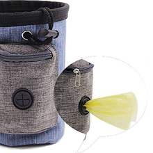 Dog Training Waist Bag Pet Portable Dog Treat Pouch Obedience Agility Training Treat Bag Detachable Pocket For Dog Snack Reward(China)