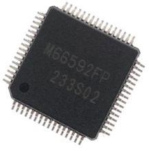1 шт. M66592FP QFP-64 M66592F QFP64 M66592 66592 привод контроллер микросхема новый и оригинальный