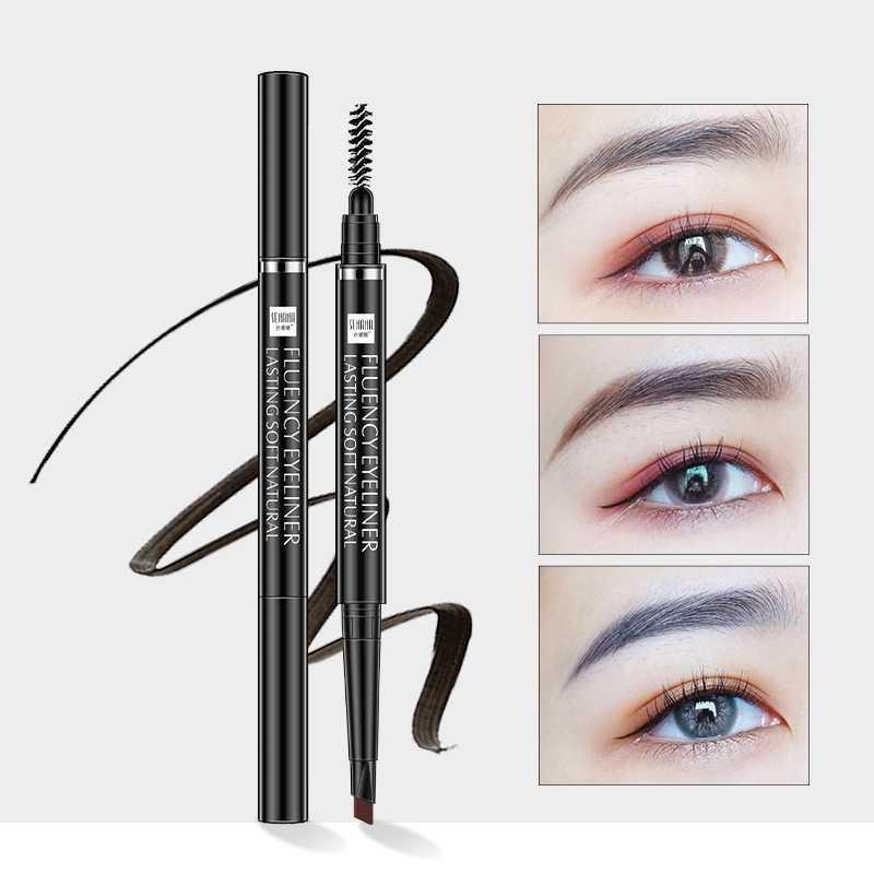 Nowy barwnik do brwi kosmetyki naturalne długotrwałe farby tatuaż brwi wodoodporny czarny brązowy ołówek do brwi zestaw do makijażu Y1