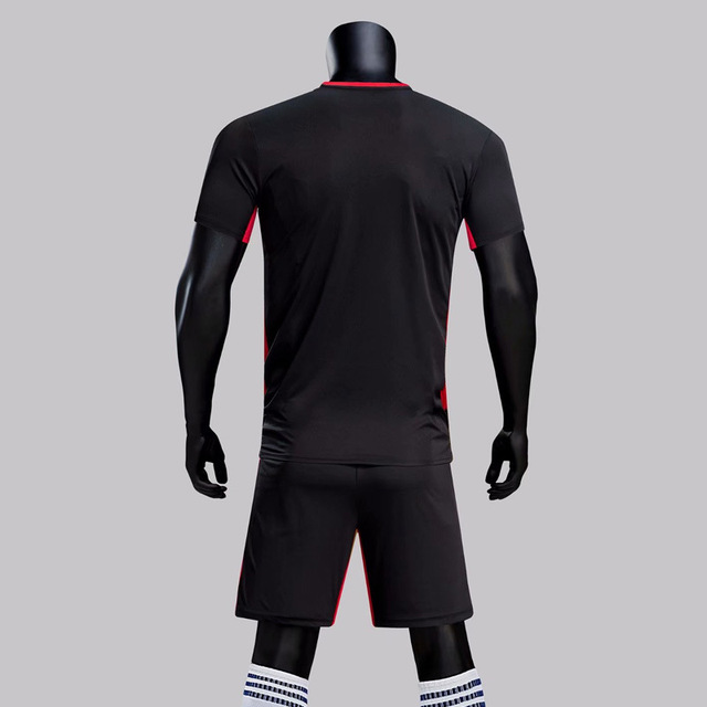 Summer New Style Running Breathable Sports Short Sleeved Set O Neck Crew Neck Thin Football Clothes Quick-Dry Adult Football Set