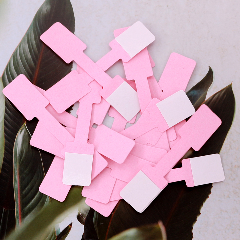 New 100PCs/Bag Jewelry Price Tag More Colors For Necklace Ring Jewelry Price Labels Tags Display Paper Price Tags