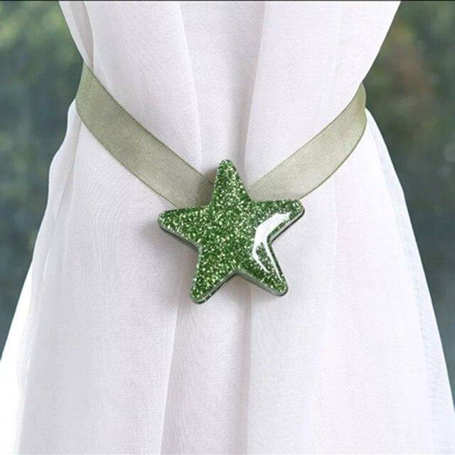 Star Shape Magnet Curtain Buckle 3