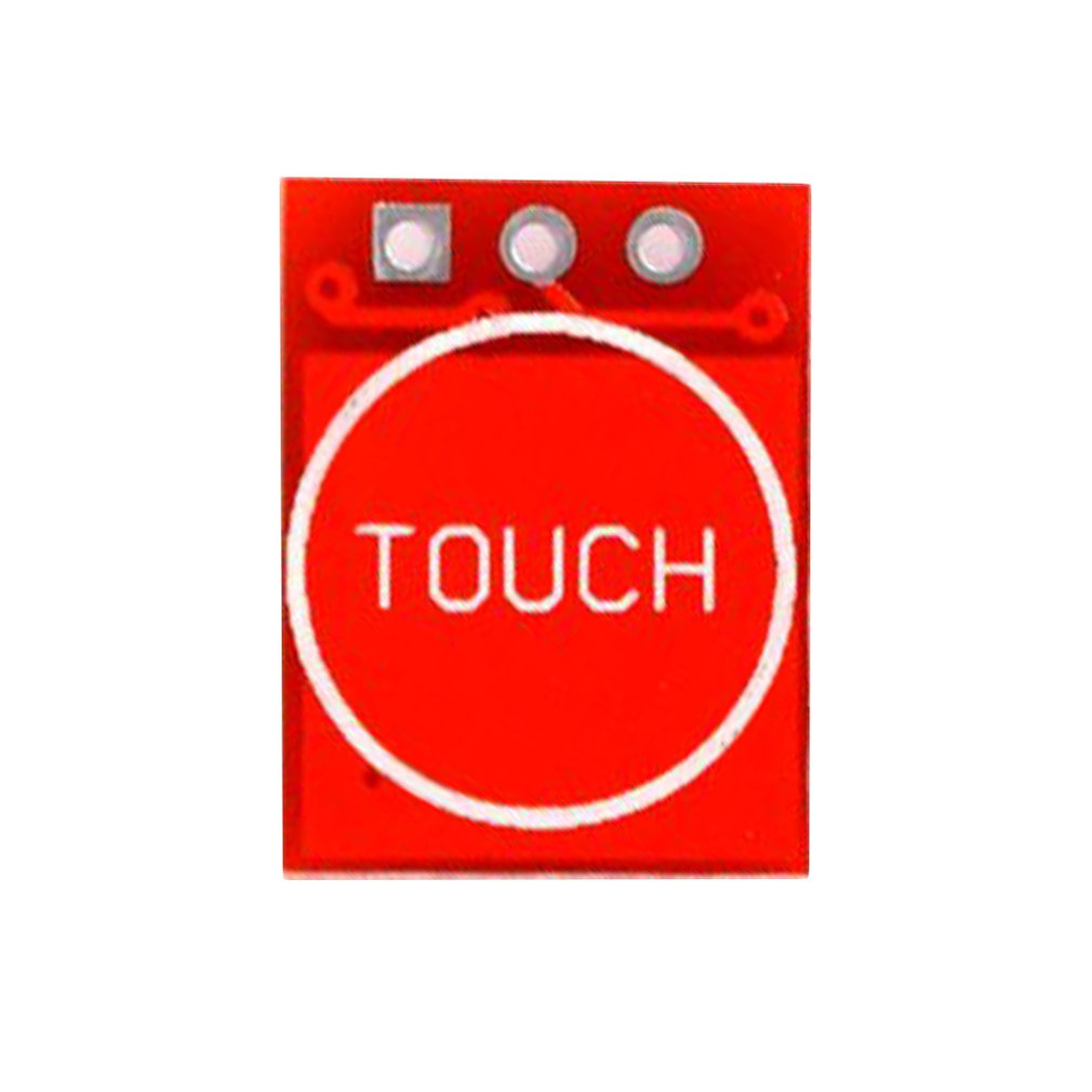 763 Ttp223 Touch Button Module Self-Locking Jog Capacitive Switch Single-Channel Retrofit Board Module