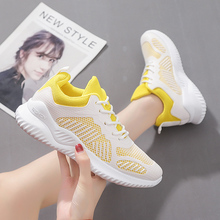 Sneakers Women Shoes 2020 Summer Shoes Women Sneakers Breathable Mesh Casual Shoes woman fashion lace-up ladies shoes Hot Deal women sneakers breathable outdoor walking shoes woman mesh casual shoes white lace up ladies shoes 2019 fashion female sneakers