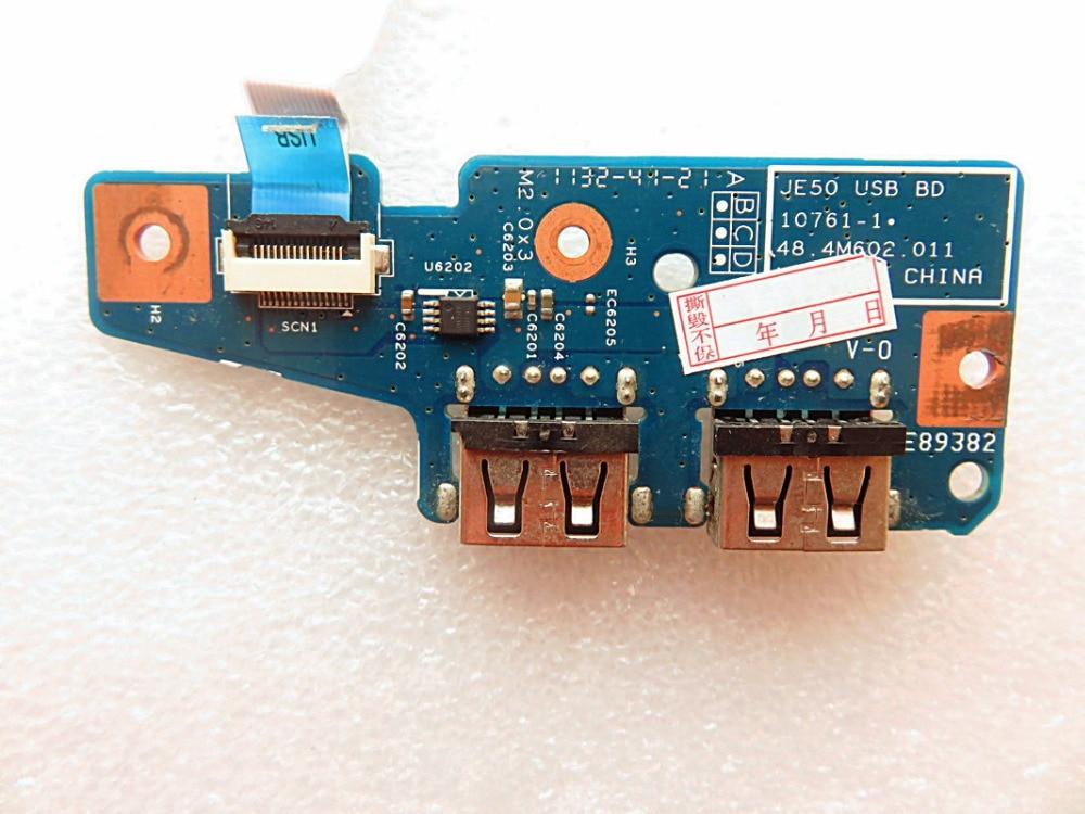 Original para acer aspire 5560 5560g placa usb 48.4m602. 011