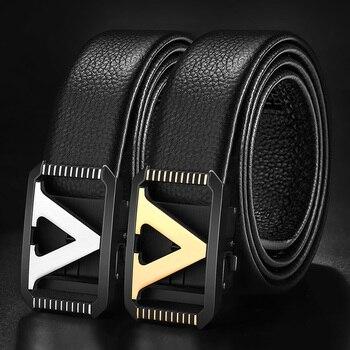 Mens Fashion Luxury-Style Belts