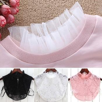 Shirt collar bottom collar Stand collar decorative collar fungus edge fake collar fashion collar mesh фото
