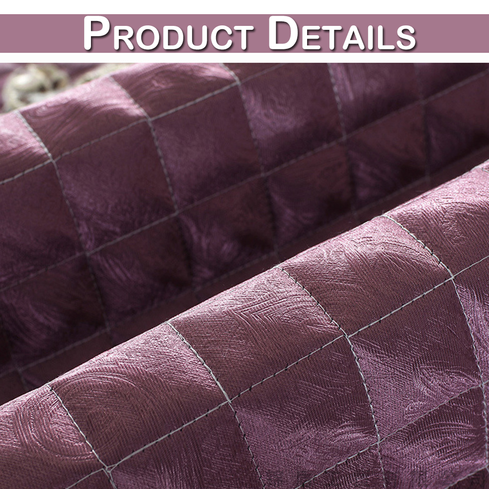 Image 5 - Waterproof Quilted Sofa Couch Cover Towel Jacquard Lace Silk Chair Cover Arm Towel Cover Furniture Protector Home Decoration D20