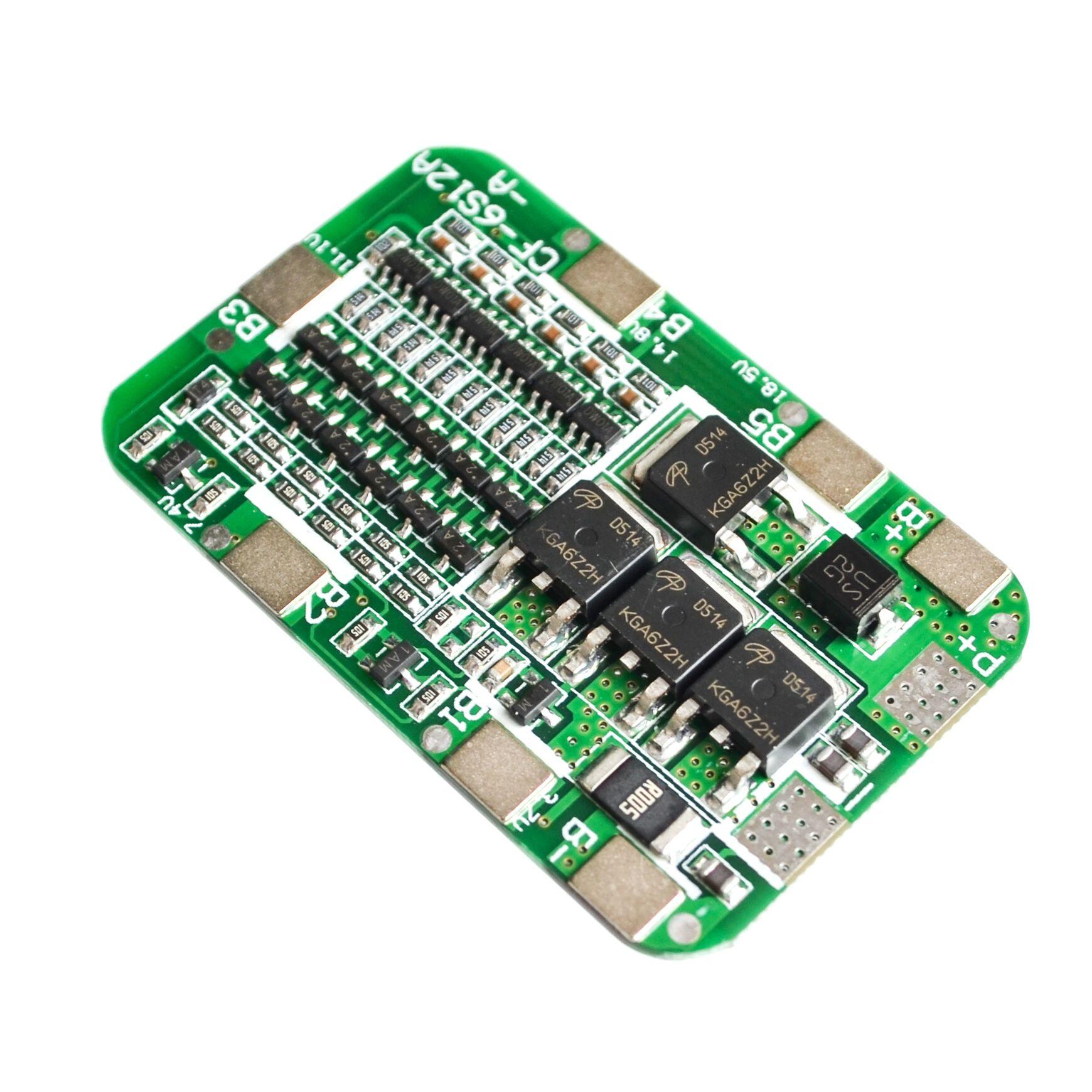 6S 15A 24V PCB плата защиты BMS для 6 упаковок 18650 литий ионная литиевая батарея|Промышленные компьютеры и аксессуары|   | АлиЭкспресс