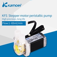 Kamoer KFS Micro Peristaltic Dosing Pump 24V With Stepper Motor For Hotsale Electric Aquarium