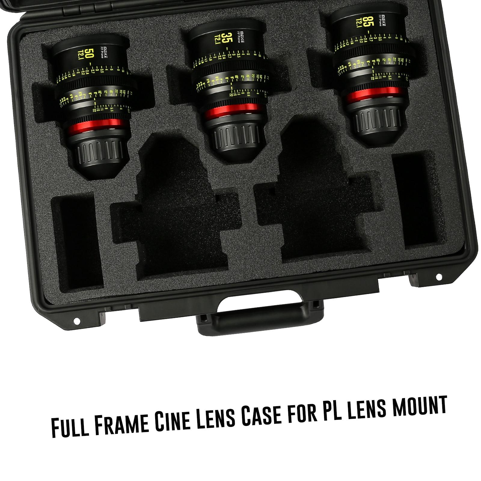 Meike Full Frame Series 3* Cine Lens Kit -Fast Delivery