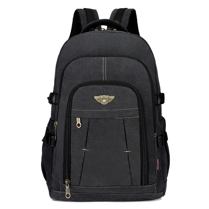 Laptop Canvas Backpack Men