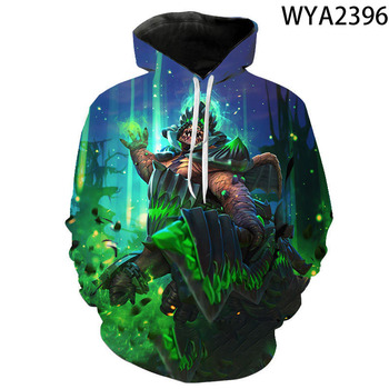 New Fashion Hoodies Dota 2 Men Women Children Sweatshirts 3D Printed Pullover Hooded Boy Girl Kids Streetwear Casual Tops Exotic 2