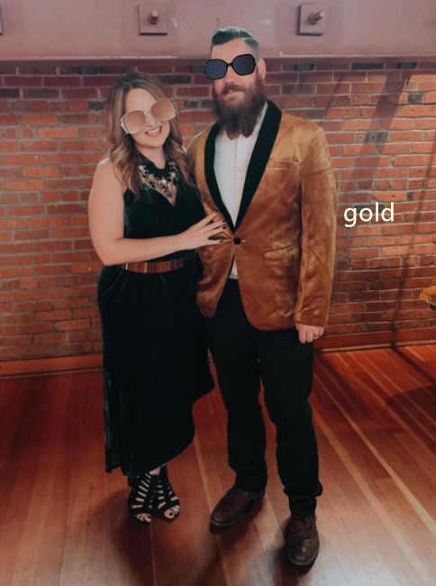 Pyjtrl Mannen Groen Paars Roze Blauw Goud Rood Zwart Fluwelen Mode Pak Jas Bruiloft Bruidegom Podium Zanger Prom Slanke fit Blazers