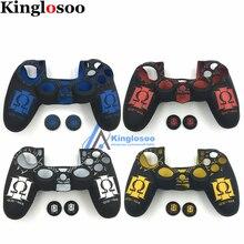 Per Playstation dualshock 4 PS4 Pro Controller Sottile Modello Molle Della Pelle Del Silicone custodia protettiva In Gomma