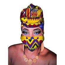 Bintarealwax головной шарф с принтом Анкары для женщин индивидуальная
