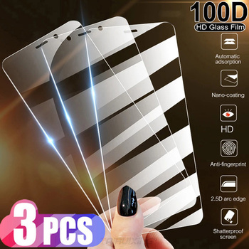3Pcs HD Glass Film Tempered Glass for ZTE Axon 10s Pro Blade 20 11 A3 A5 A7 Prime V9 Vita A7S L8 V10 V18 Z18 Screen Protectors image