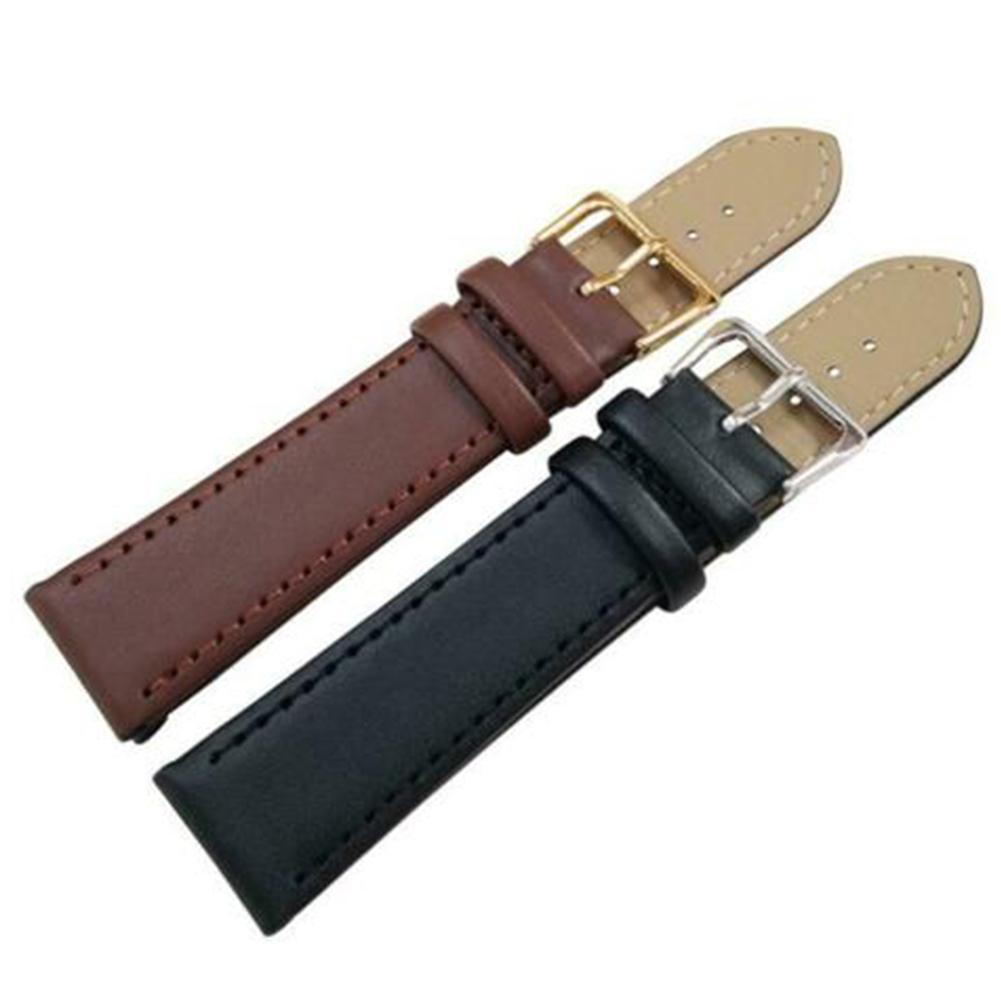 Universal Watch Strap 14-22mm Replacement Adjustable Faux High Quality 22cm Leather Wrist Watch Band Strap Watchbands