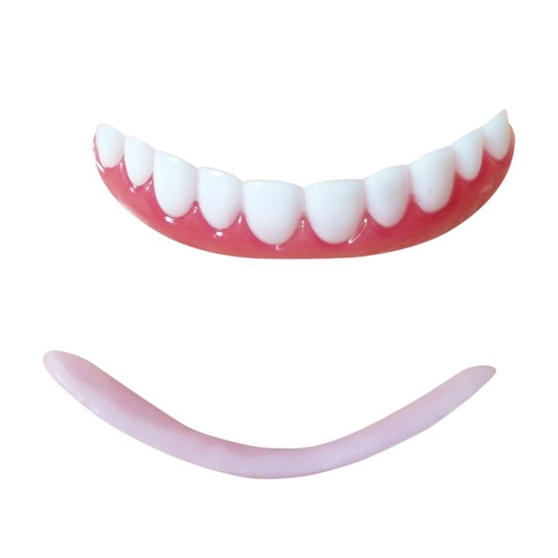 Teeth Whitening Strips Top Teeth Denture Teeth Cosmetic Veneer