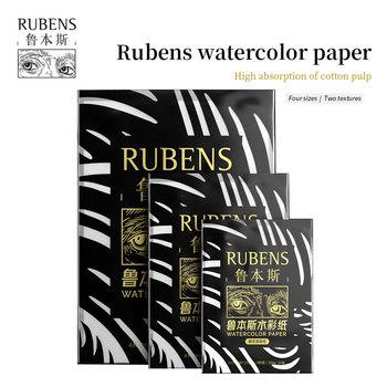 Paul Rubens papier akwarelowy 300gsm 20 arkuszy 100 bawełna akwarela Sketchbook Pad Aquarelle malowanie szkicu dla dostaw sztuki tanie i dobre opinie CN (pochodzenie)