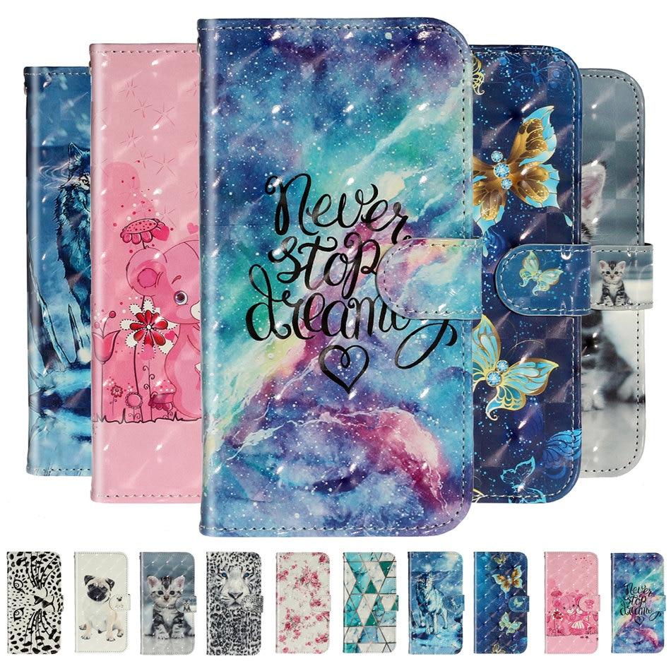 Wallet Card Case For Samsung Galaxy A320 A3 A5 J3 J5 J7 2017 A50 A51 A70 A71 S20 Ultra S10E A90 PU Leather Soft Holder Capa P01G