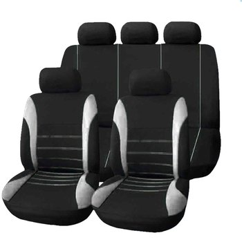 Car Seat Cover Fit Most Car Truck SUV or Van Breathable Auto Cushion Protector Polyester Cloth Universal Interior Accessories