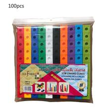 100 Pieces City Building Blocks Creative DIY Mass Bricks Model Educational Figures Kids Toys Compatible All Brands