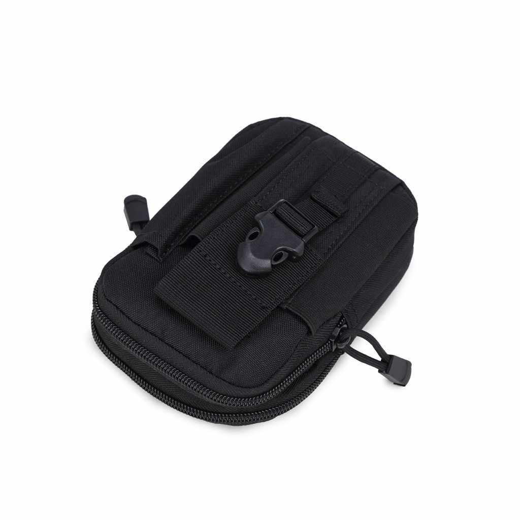 Çok amaçlı alet tutucu ile cep telefonu kılıfı spor yürüyüş kamp bel çantası geometrik bel paketleri göğüs telefonu çantası # r5