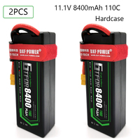 GTFDR RC Lipo Battery 2S 3S 4S 7.4V 11.1V 14.8V 8400mah 7300mah 130C-260C 140C-280C for 1/8 1/10 off-road Car RC Truggy Buggy