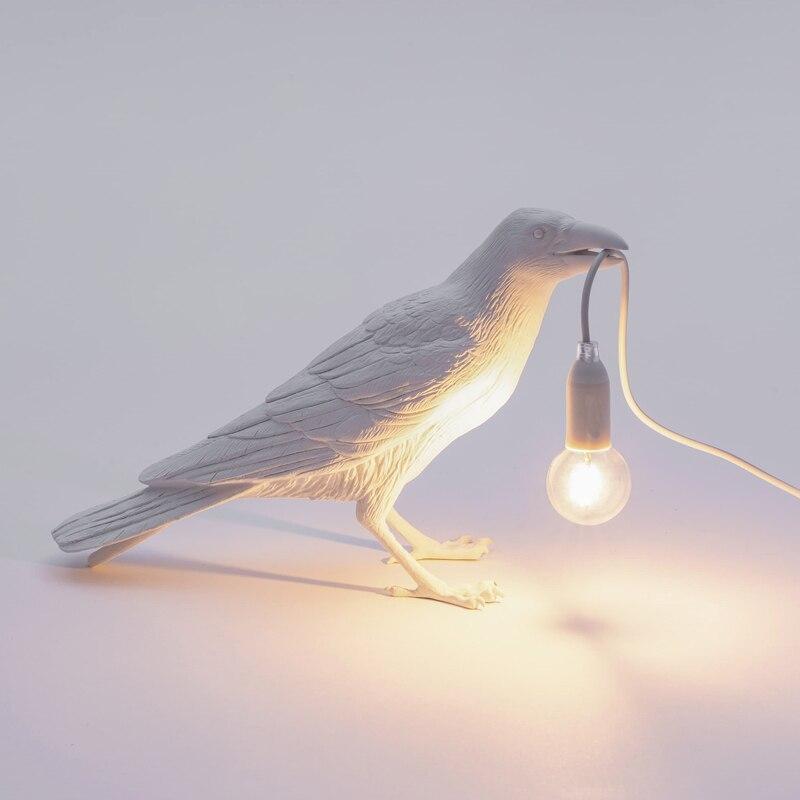 Moderna Origami Carino Alci lampade Da Tavolo Luci notturne per la camera Della Principessa Lampada da Tavolo Per Bambini In Camera Decorazione Scrivania luci Di Natale - 4
