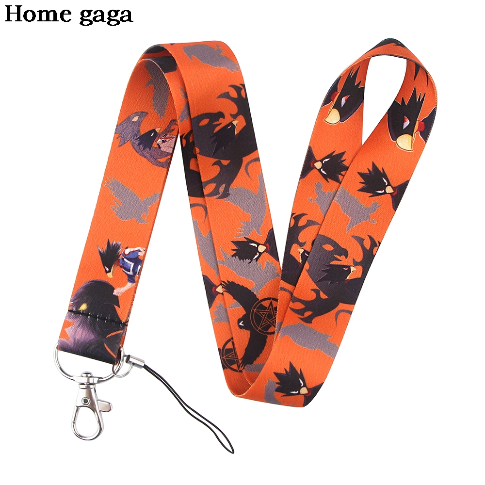 D3427 Wholesale 20pcs/lot Anime Lanyard For Phone Key ID Card Gym USB Badge Holder DIY Hanging Rope Tags Ribbon Neck Lanyards