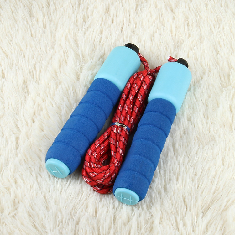 Foam Rubber Grip Cotton Jump Rope Children The Academic Test For The Junior High School Students Count Jump Rope Adjustable Thre