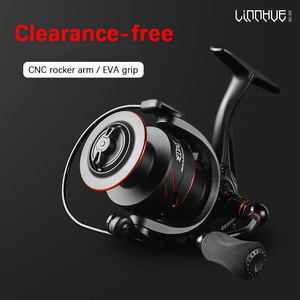 Image 2 - Fishing Reel GS 2000 7000 Series 12+1 BB Clearance free CNC Metal Deepen Reel Outdoor River Lure Saltwater