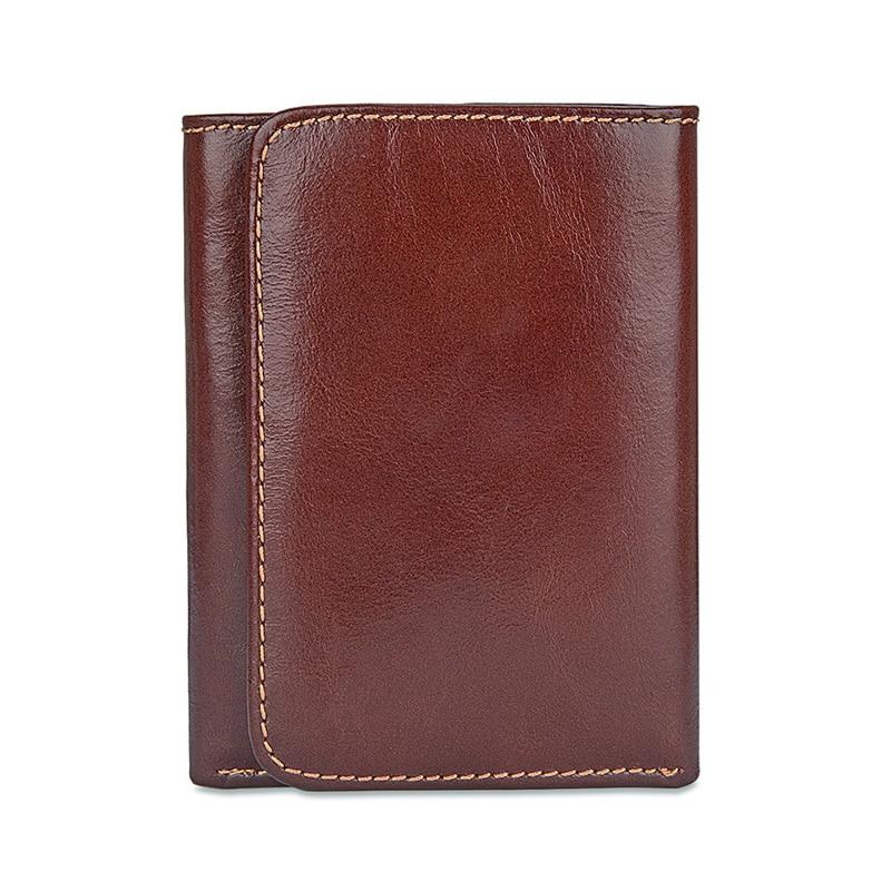 Hommes porte-cartes en cuir véritable voyage solide passeport couverture portefeuille