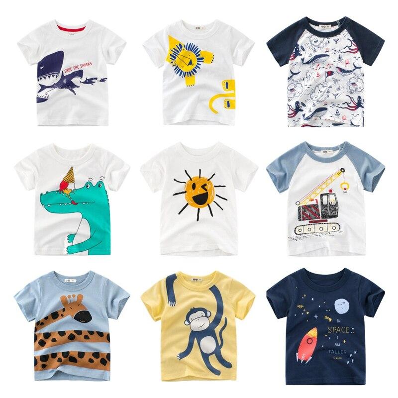 VIKITA Manica Corta Cotone T-Shirt Bambina 1-6 Anni