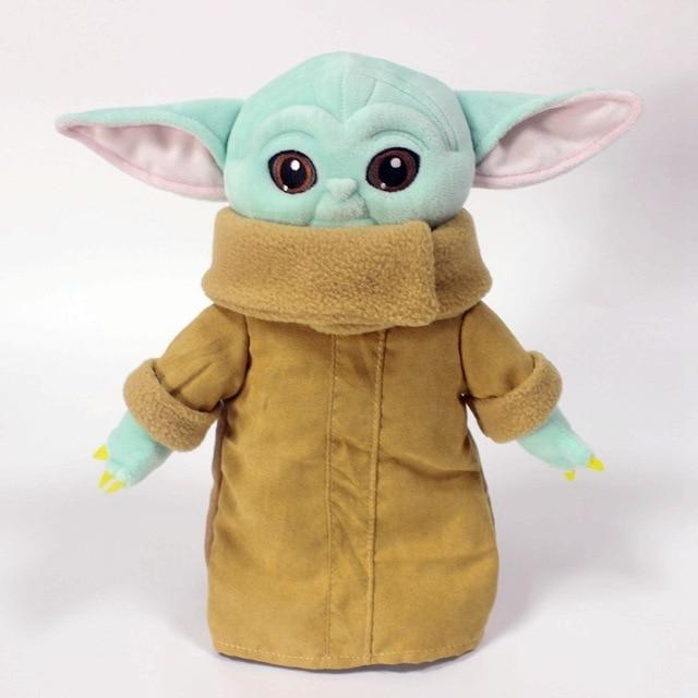 11-30cm Baby Yoda Plush Toy Master Yoda Plush Pendant Soft Plush Animal Doll Keychain Gift for Kids Little Surprise