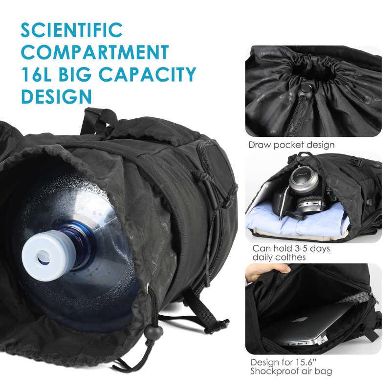 تيجيرنو موضة جديدة حقيبة ظهر للكمبيوتر المحمول رسم جيب USB شحن السفر مدرسة الرياضة مقاوم للماء على ظهره الذكور الإناث حقيبة حزمة