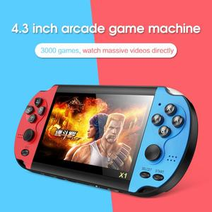 Video Game Console Player X1 for PSP Gamapad Handheld Retro 4.3 inch Screen Mp4 Player Game Player Support Camera Video E-book